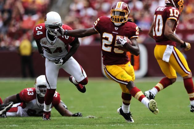 Washington Redskins Entering 2012 Without a True No. 1 Back