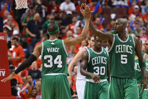 Kevin Garnett Shines, Boston Celtics Dominate Sixers in Game 3 Blowout Victory