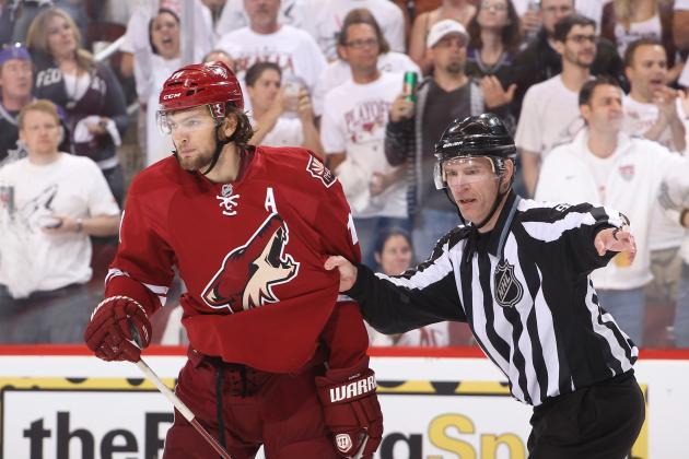 Martin Hanzal Suspension: 1-Game Ban Not Enough for Malicious Boarding Penalty