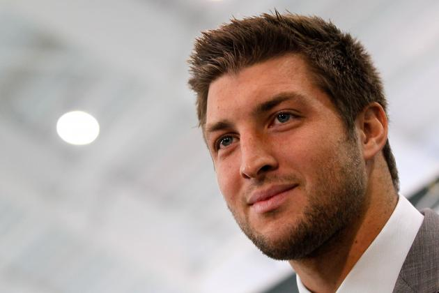 Tim Tebow: Distasteful T-Shirts Prove New York Is Bad Spot for Jets QB