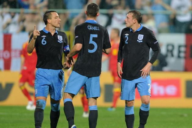 England's Euro 2012 Squad: Picking an Ideal Starting XI