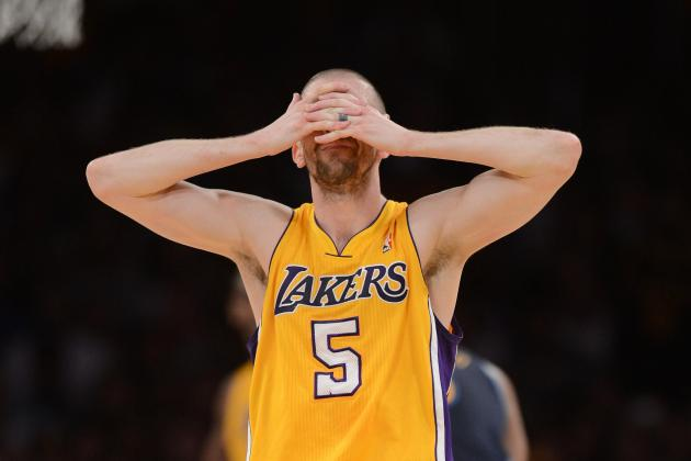 Did Steve Blake Lose Game 2 for the Lakers Against the Thunder?