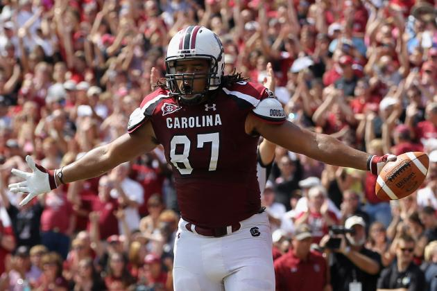 South Carolina Football:  Justice Cunningham Is Mr. Underrated at Tight End