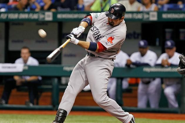 Adrian Gonzalez: Red Sox First Baseman Will Make Good on HR Guarantee vs Rays