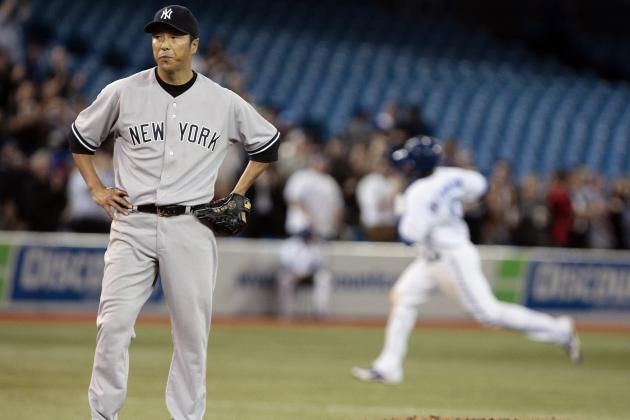 Hiroki Kuroda: New York Yankees SP Earns AL Worst of the Night Honors