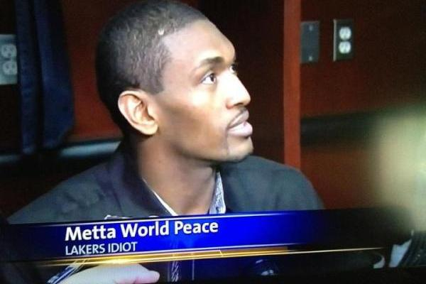 Metta World Peace Called out for Being