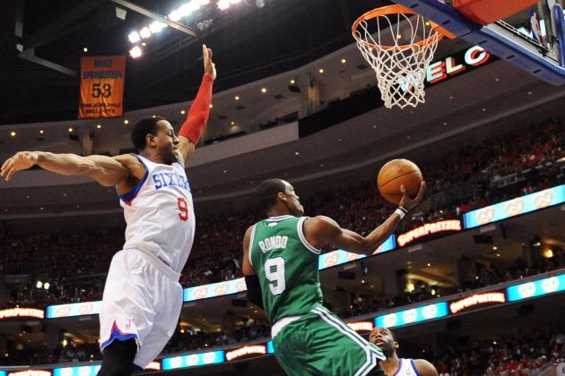 NBA Playoffs 2012: Rajon Rondo Statistically Outperforming Chris Paul