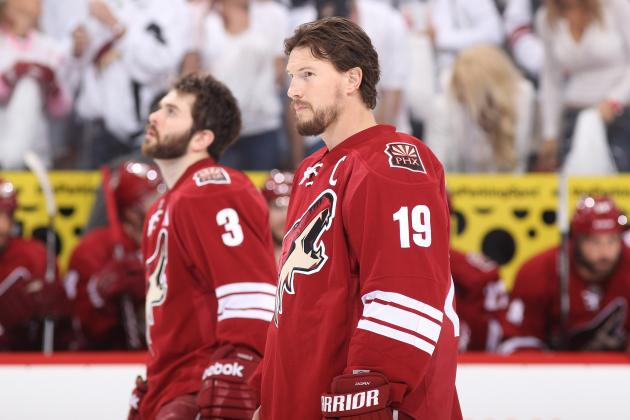 Martin Hanzal Suspension: Shane Doan and More Coyotes Forwards Who Must Step Up