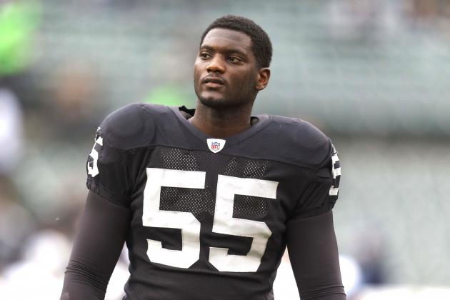 Rolando McClain: Oakland Raiders LB Sentenced to 180 Days in Jail