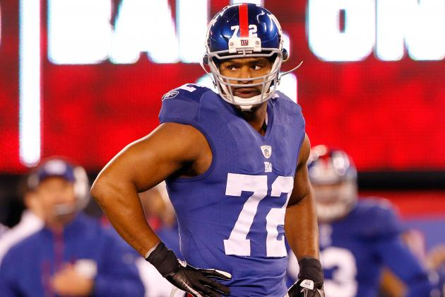 Leverage Indicates New York Giants Have Little Reason to Rush with Osi Umenyiora