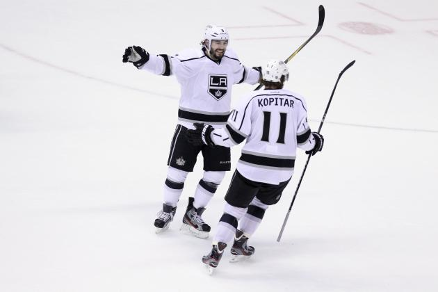 NHL Playoffs: Drew Doughty, Anze Kopitar on Path to Conn Smythe Consideration
