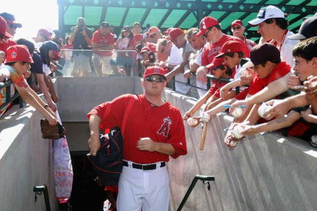 Mark Trumbo:  LA Angels Third Baseman Fast Becoming Fan Favorite