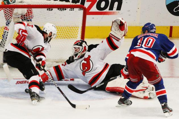 Stanley Cup Playoffs 2012: New York Rangers Forward Marian Gaborik Gets Benched