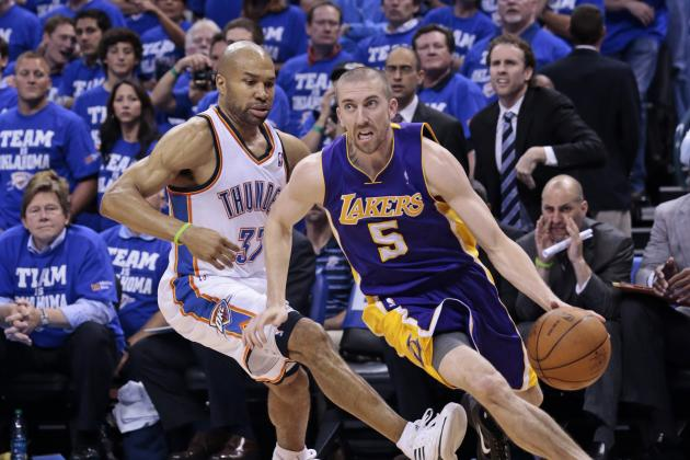 Lakers Guard Steve Blake Victim of Twitter Hate Following Blown Game-Winner