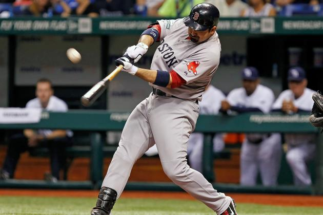 Boston Red Sox: Adrian Gonzalez Searching for Power Stroke