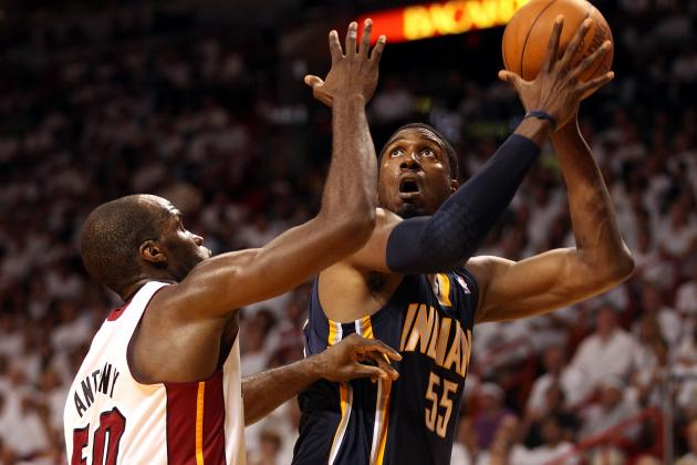 2012 NBA Playoffs: Why Roy Hibbert Is the X-Factor for the Indiana Pacers