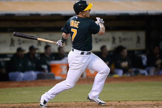 Oakland A's: Brandon Inge Lands on DL After Torrid Start with A's
