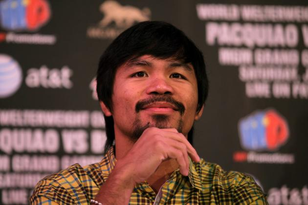Manny Pacquiao Ends Up with Low Guaranteed Pay, Blame Top Rank?