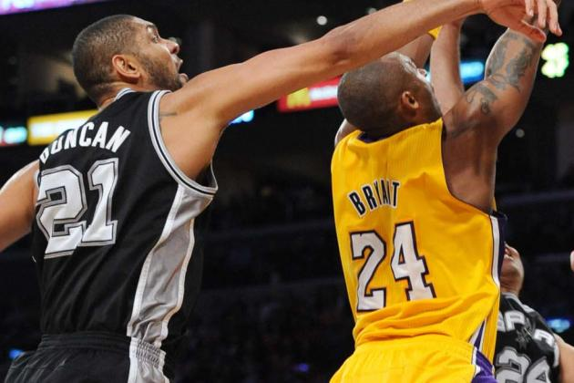 Tim Duncan: Winning Fifth Championship Would Make Him Greater Than Kobe Bryant