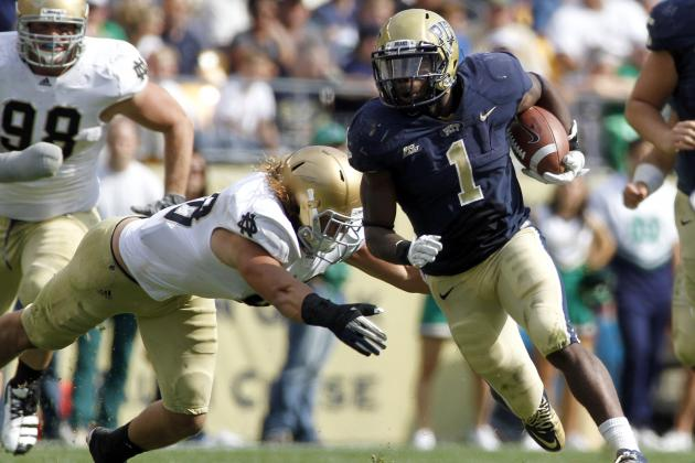College Football 2012 Top 150 Players: No. 115 Ray Graham Pittsburgh RB