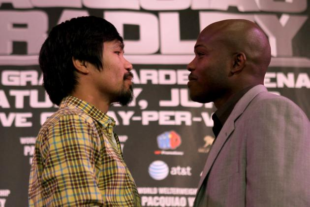 Pacquiao vs Bradley: Latest Odds on June Superfight