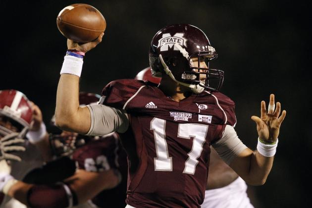 SEC Football Top 150 Players: No. 103, Tyler Russell, Mississippi State QB