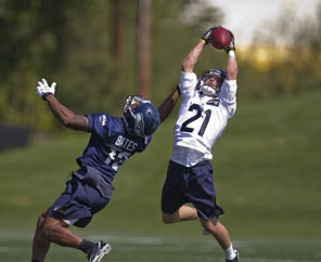 Undersized DB Donny Lisowski Impresses Seahawks with His Speed