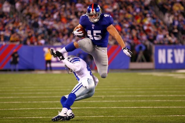 Henry Hynoski: The New York Giants FB Is Key to Offense's Success