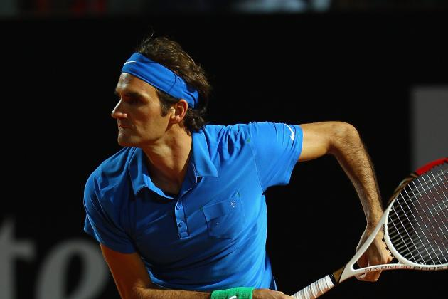 2012 Rome Masters: Roger Federer vs. Novak Djokovic Preview