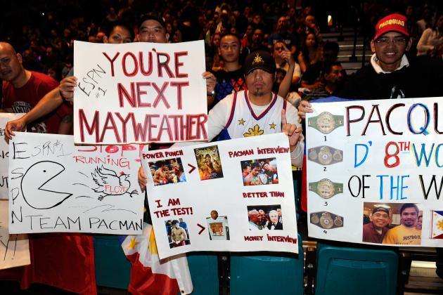 Manny Pacquiao vs. Floyd Mayweather Jr. Fans: Where's the Balance? Part II