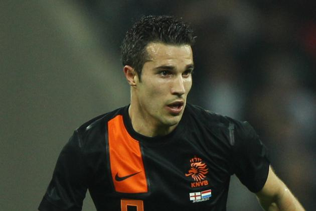 Euro 2012 Players to Watch: Robin van Persie of Netherlands