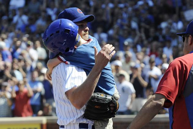 Cubs' Kerry Wood Proves to Be a Giant on Wrigley Mound