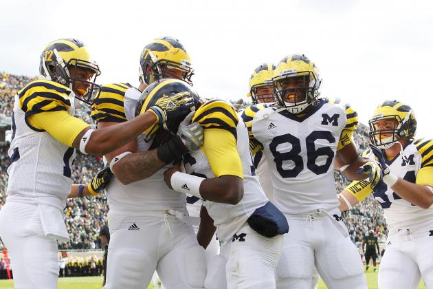 Michigan's 2012 Tilt with Michigan State Takes Precedent over Ohio State Rivalry