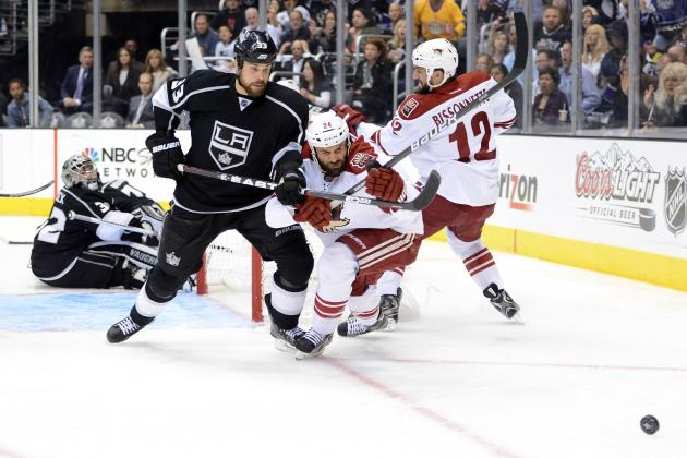 NHL Playoffs 2012: Preview and Prediction for Game 4 of Coyotes vs. Kings