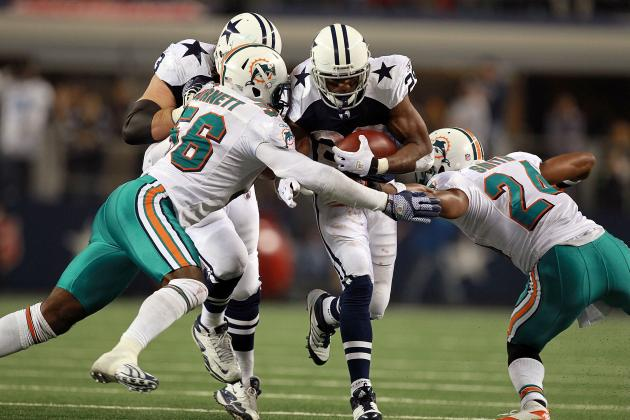 2012 Dallas Cowboys: Why DeMarco Murray's Impact Is Key to This Offense