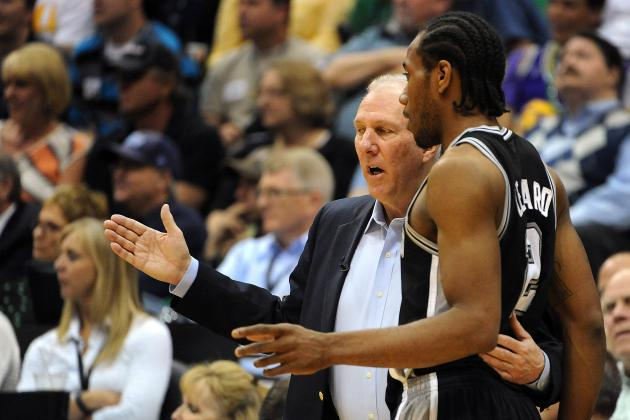 NBA Playoffs 2012: Rookie Kawhi Leonard Continues to Impress in San Antonio