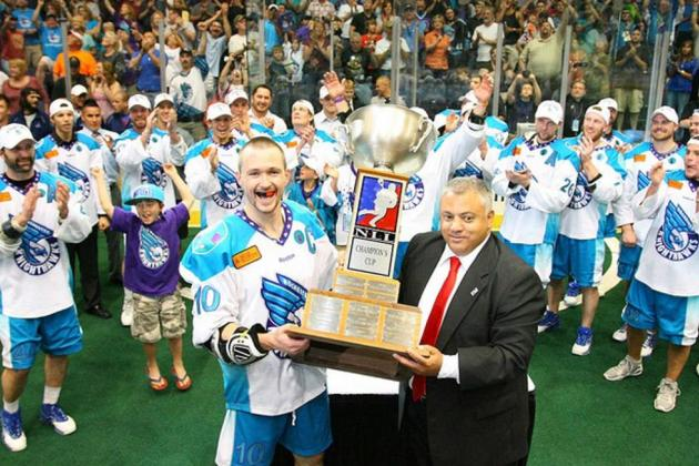 National Lacrosse League 2012: Rochester Knighthawks Win Champion's Cup