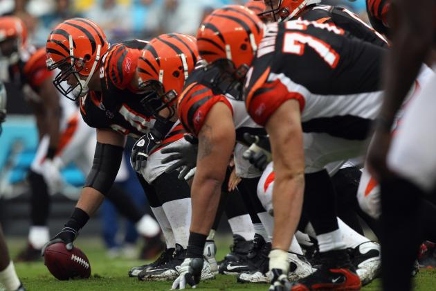 Cincinnati Bengals Offensive Line Has Everything to Prove in 2012