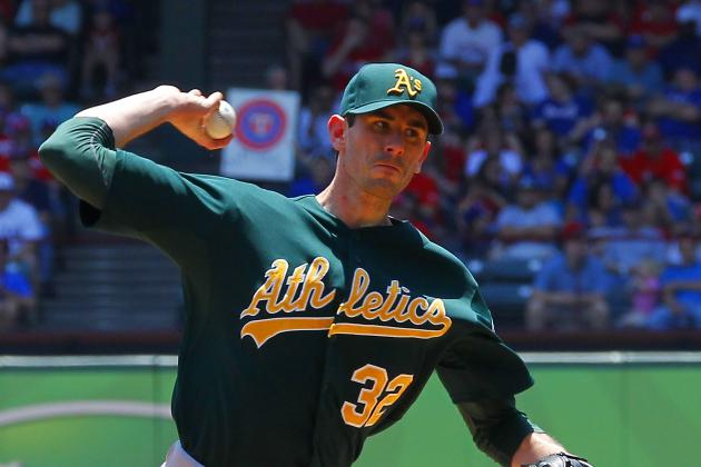 Brandon McCarthy: Oakland A's Opening Day Starter Placed on DL