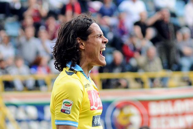 Juventus vs. Napoli: Edinson Cavani Will Destroy Juve's Defense in Coppa Italia