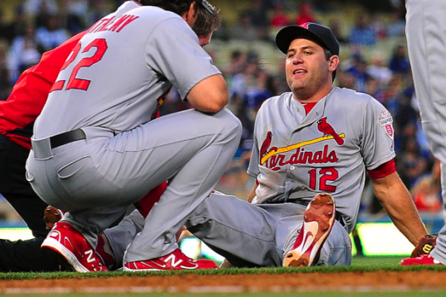 Lance Berkman Injury: Updates on Cardinals Star's Knee Injury