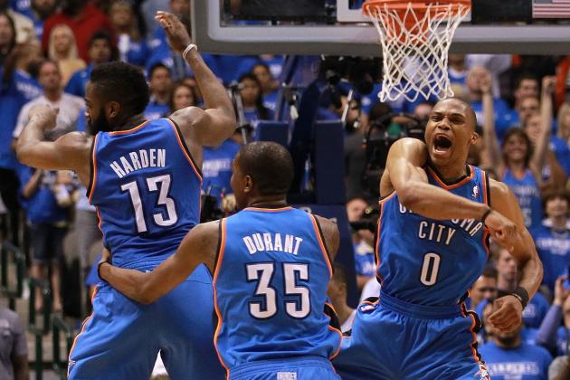 Do the Oklahoma City Thunder Have the NBA's Best 'Big Three?'