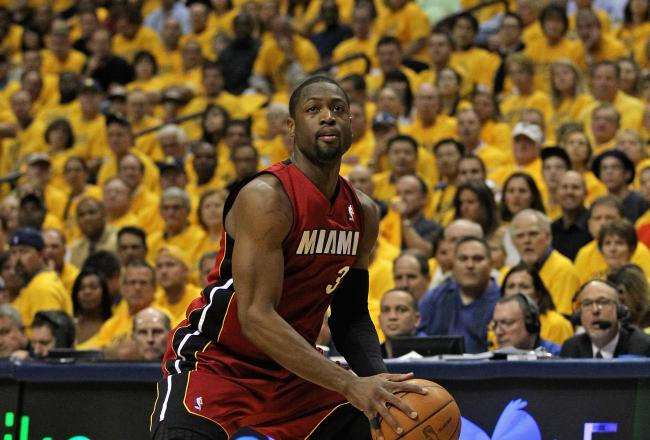 Dwyane Wade is having a positive impact in the second quarter.
