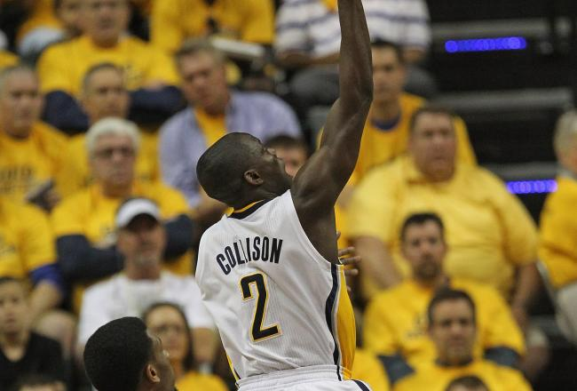 Darren Collison has provided a spark off the bench for the Pacers.