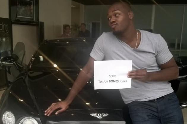 Jon Jones DUI: Real Photo of UFC Champ's Wrecked Bentley Surfaces