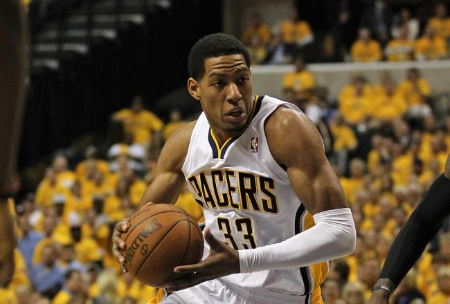 Danny Granger led the Pacers with ten first half points.