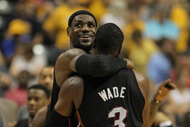 NBA Playoffs 2012: The Heat Is on in Miami vs. Indiana Series