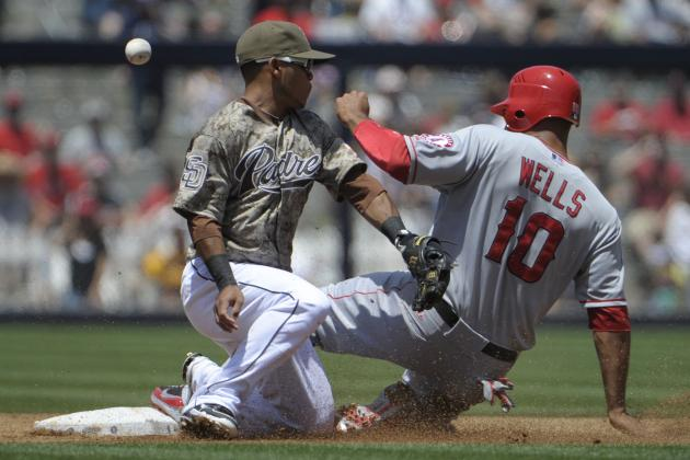 L.A. Angels of Anaheim Lose Vernon Wells, Langerhans; Both Likely Headed to DL