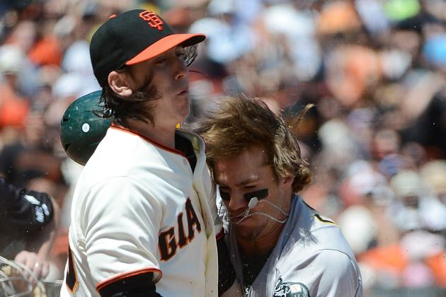 San Francisco Giants Ace Tim Lincecum's Struggles Continue in Loss to A's