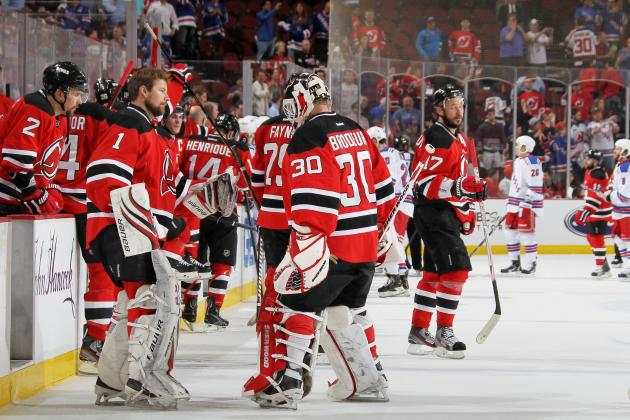 2012 NHL Playoffs: Will New Jersey's New Lines Save the Series against New York?